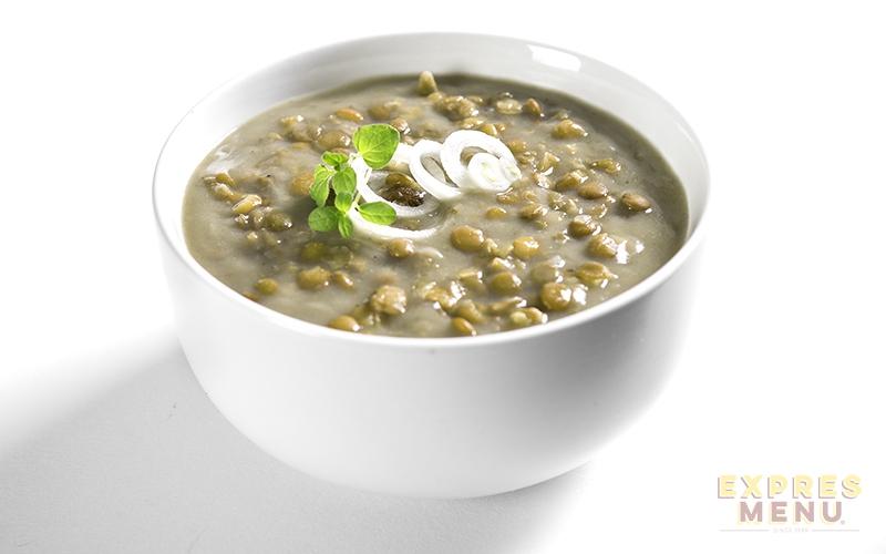 EXPRES MENU Čočková polévka - 1 PORCE 300g